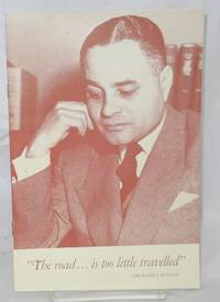 Address delivered by Dr. Ralph Bunche at Lincoln Birthday Observation of the Mid-day Luncheon Club at Springfield, Illinois, February 12, 1951. [Cover title The road... is too little travelled