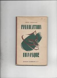 Fabrication du Masque by Henri Cordreaux - 1946 - from Livre Nomade (SKU: 53493)