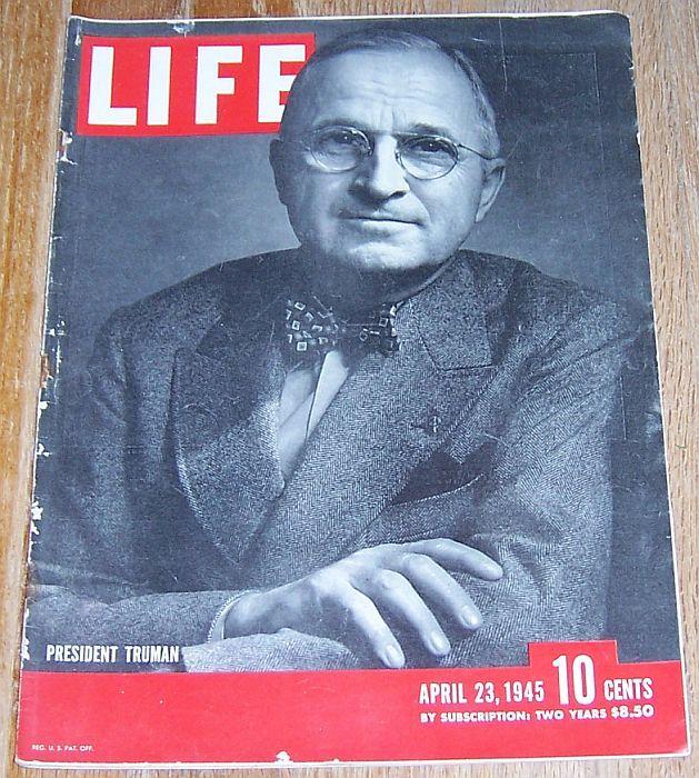 LIFE MAGAZINE APRIL 23, 1945, Life Magazine