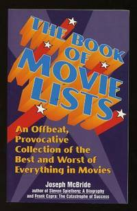 The Book of Movie Lists: An Offbeat, Provocative Collection of the Best  and Worst of Everything in Movies