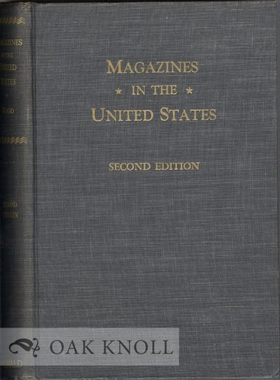 New York: The Ronald Press, 1956. cloth. 8vo. cloth. xiii, 390 pages. Second edition. An excellent, ...