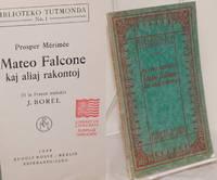 image of Mateo Falcone kaj aliaj rakontoj
