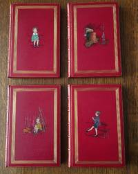 SET OF WINNIE THE POOH AND CHRISTOPHER ROBIN FIRST EDITIONS. 4 Volumes.-- When We were very young. -- Winnie the Pooh. -- Now We are Six. -- The House at Pooh Corner.