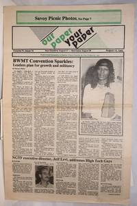 image of Our Paper, Your Paper; the gay family paper of the Santa Clara Valley; vol. 4, #15, August 14, 1985