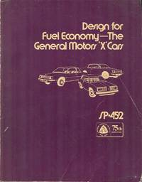 "Design for Fuel Economy - The General Motors ""X"" Cars"