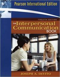 image of The Interpersonal Communication Book: International Edition