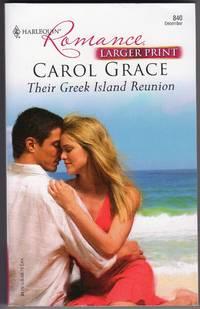 Their Greek Island Reunion (Larger Print)