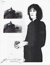 image of Patti Smith: A bibliography. [By Lawrence R. French and John D. De Gozzaldi]