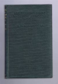Selections From Matthew Arnold's Prose