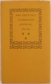 Mrs Fenton's Tasmanian Journal 1829-1830.