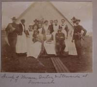 [Women][Nursing][Spanish-American War][Native Americans]photo Album Likely Compiled By An American Nurse Serving In The Spanish-American War - Used Books