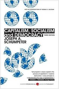 image of Capitalism, Socialism, And Democracy