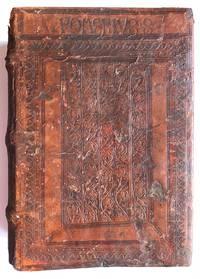 RUBRICATED MONASTIC COPY IN ORIGINAL AUGSBURG BINDING: Sermones Pomerii de sanctis. by Themeswar, Pelbartus de (1430-1504) - 1501
