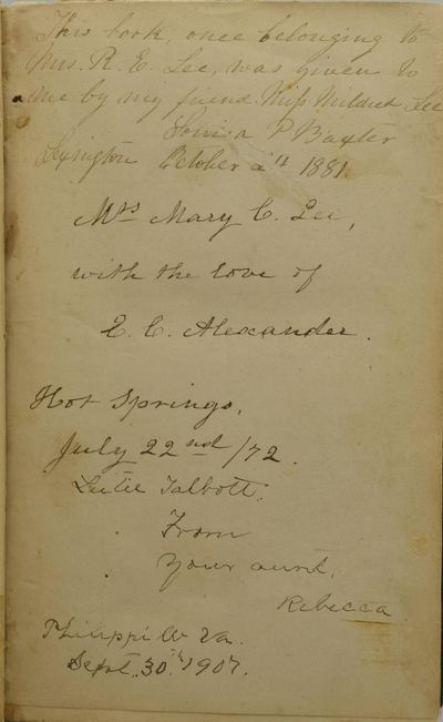 New York: Charles Scribner & Co, 1870. Sixth Edition. Hard Cover. Very Good binding. This copy of Al...
