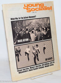 image of Young Socialist; Which way for the Antiwar Movement? Mass Action or Karate vol. 12, no. 10 (October 1969)