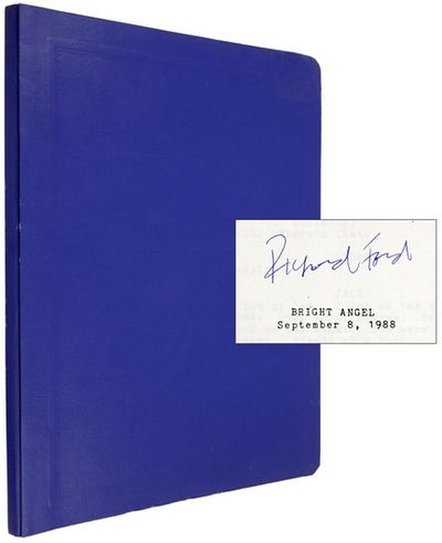 (n.p.): (n.p.). 1988. A 120-page screenplay by Ford for a 1991 film adaptation he did from stories i...