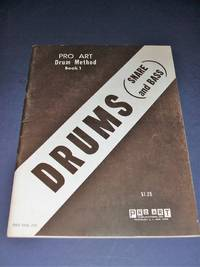 image of Pro Art Drum Method Snare and Bass Book 1 a First Year Course for  Individual or Class Instruction