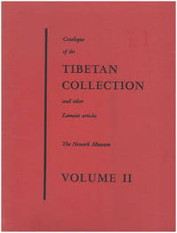 Catalogue of the Tibetan Collection and Other Lamist Articles (Vol II, Music, Musical Instruments, Ritualistic Objects