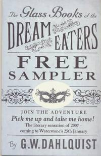 THE GLASS BOOK OF THE DREAM EATERS - chapter sampler