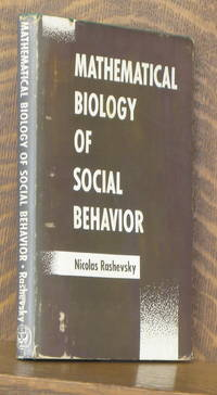 image of MATHEMATICAL BIOLOGY OF SOCIAL BEHAVIOR