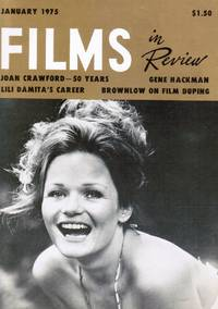 image of Films in Review / Vol. XXVI, No. 1 / January 1975 Valerie Perrine (Cover)