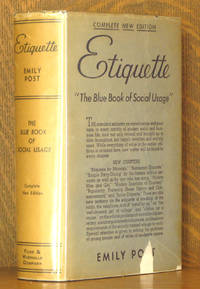 ETIQUETTE 'THE BLUE BOOK OF SOCIAL USAGE'