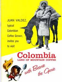 Near Fine. 32p., promotional literature for Columbian coffee using Juan Valdez. These items are seld...