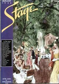 image of STAGE THE MAGAZINE AFTER-DARK ENTERTAINMENT (AUGUST 1935)  Cover Painting  by Wallace Morgan