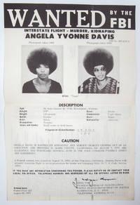 Wanted by the FBI: Angela Yvonne Davis