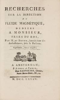 Essais sur l'Hygromètrie by  Horace Benedict de SAUSSURE - Paperback - 1st Edition - 1783 - from Milestones of Science Books (SKU: 003047)