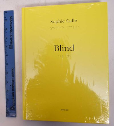 Arles: Actes Sud, 2011. Hardcover. New in shrinkwrap.. Yellow boards with black lettering and braill...