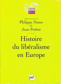 image of Histoire du libéralisme en Europe.