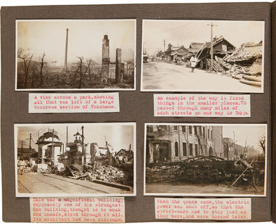 Himeji and other locations in Japan, 1925. Approximately 150 original vernacular photographs, rangin...