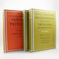 Philosophiae Naturalis Principia Mathematica. The Third Edition (1726) with Variant Readings. Assembled and Edited by Alexandre Koyré and I. bernard Cohen with the assistance of Anne Whitman. [Together with] Introduction to Newton's 'Principia'.