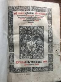Summa Domini Armacani in Questionibus Armenorum noviter impressa et Correcta a magistro nostro...