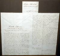 Arizona.  Original Document Regulating Gambling in the Counties.  Signed By Governor John Goodwin and Two Other Major Leaders, November 9, 1864