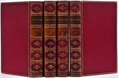 London: George Bell and Sons, 1878. SCARCE. Four volume set finely bound in contemporary polished re...