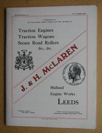 image of Catalogue of Traction Engines, Royal Medal Steam Tractors, Steam Road Rollers, Etc. Manufactured By J. & H. McLaren, Midland Engine Works, Leeds. 1914.