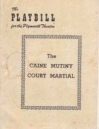 THE CAINE MUTINY COURT MARTIAL PLAYBILL PROGRAM