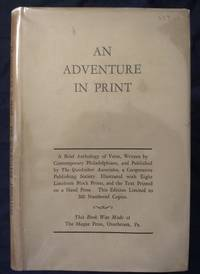 An Adventure in Print. A Brief Anthology of Verse