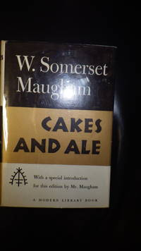 Cakes and Ale, Modern Library # 270 on DJ Spine. First Modern Library Edition 1950, Stated. in...
