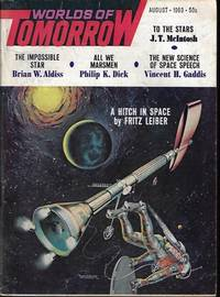 """WORLDS OF TOMORROW: August, Aug. 1963 (""""Martian Time-Slip"""")"""