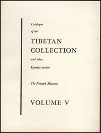 Catalogue of the Tibetan Collection and Other Lamist Articles (Vol V, Food Utensils and Tables, Currency
