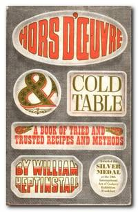 Hors D'oevre And Cold Table A Book of Tried and Trusted Recipes and Methods