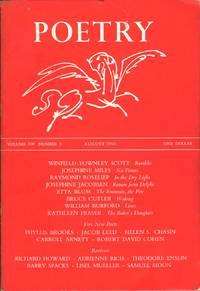 Poetry Vol. 108 No. 5