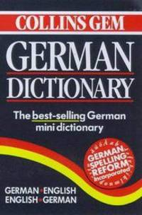 The Collins Paperback German Dictionary