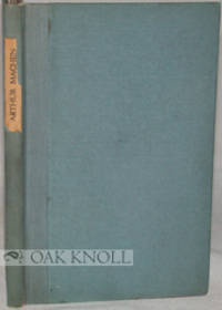 Chicago: Walter M. Hill, 1918. cloth-backed paper-covered boards, paper spine label. tall 12mo. clot...