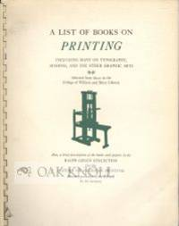 Williamsburg: College of William and Mary, 1962. plastic ring binding, stiff paper covers. Green, Ra...