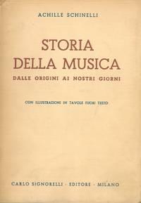 Storia della musica. Dalle origini ai nostri giorni.