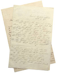 """Autograph Manuscript, signed (""""Rose Hartwick Thorpe""""), two stanzas from """"Curfew Shall Not Ring Tonight"""